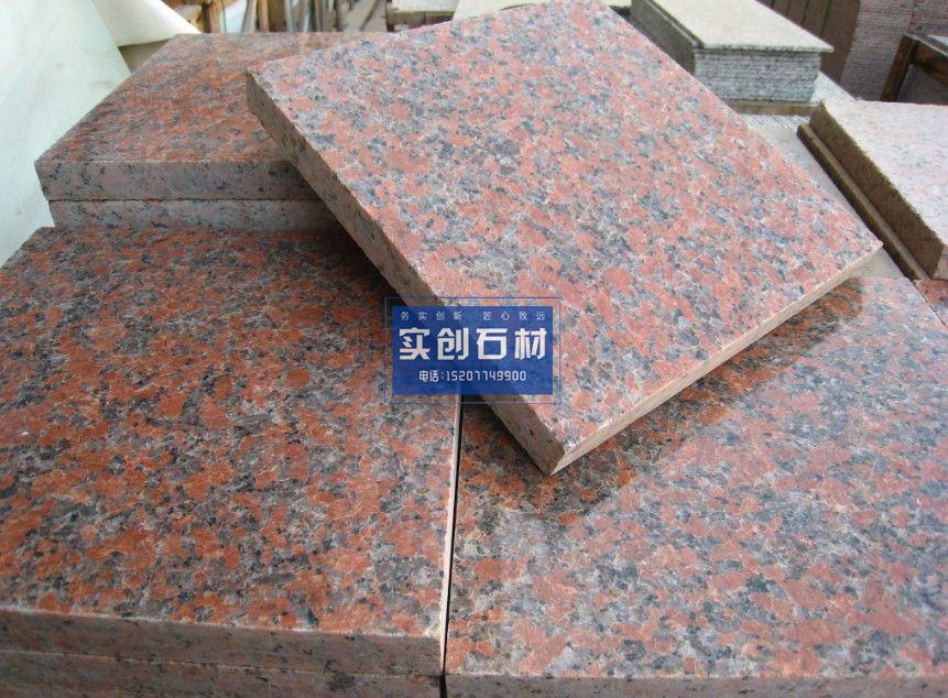 广西枫叶红石材